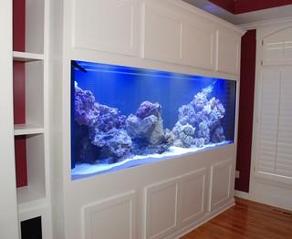 White Aquarium Stand/Cabinet Unit - Contemporary - Furniture - kansas city - by Belak ...