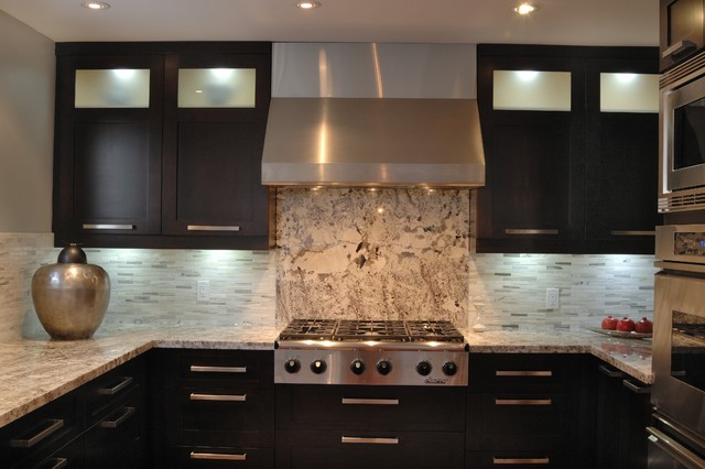Majestic Marble Kitchen contemporary-kitchen