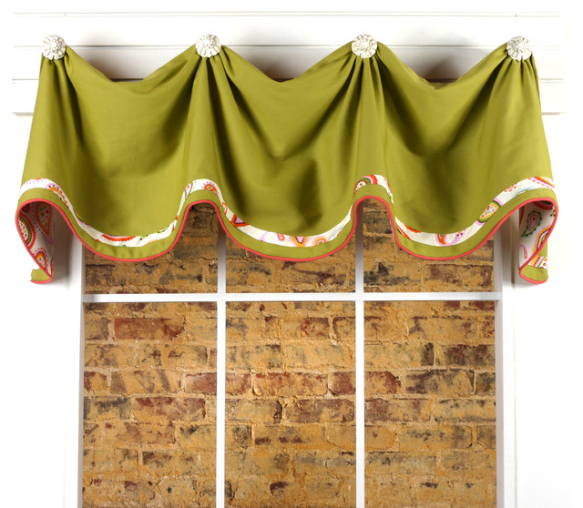 Mims Valance Sewing Pattern - Curtains - other metro - by ...