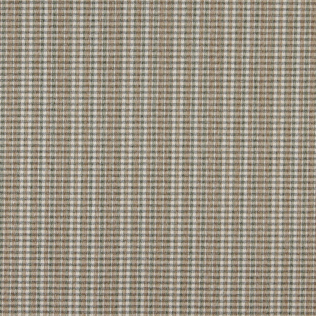 Brown Green And Ivory Small Plaid Country Tweed Upholstery
