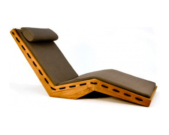 Lauser Outdoor Lounger - This outdoor lounge chair is even cooler than it looks. The headrest is adjustable and the docking rope provides an unexpected detail along the sides of the frame. Sunbrlla fabric and quickdry foam are used to make it designed for outdoor use. With its beauty, it could of course be used indoors as well. This modern chair has one reason for existing: to help you lounge.
