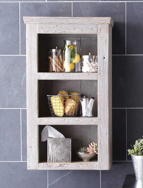 Native Trails Americana Hutch In Driftwood Farmhouse Bathroom Cabinets And Shelves