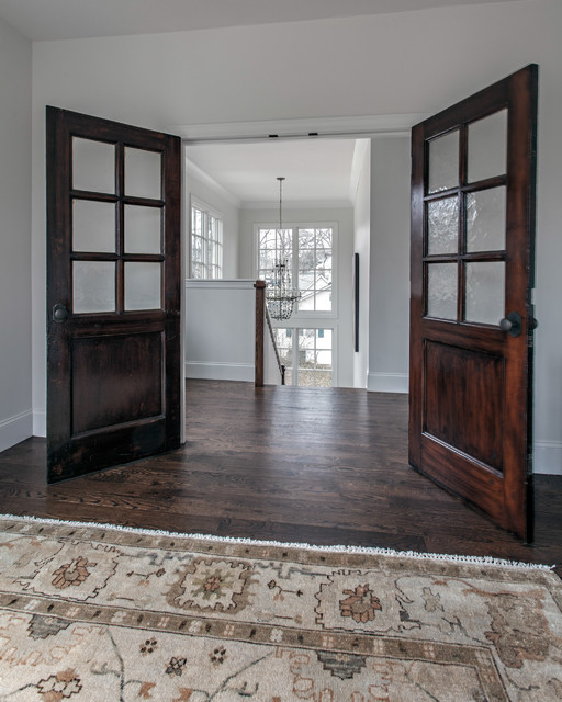 Bedroom antique french doors traditional bedroom for Bedroom french doors
