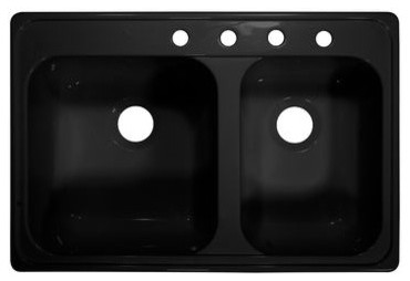 "Deluxe 33"" x 22"" Kitchen Sink modern-bath-products"