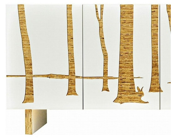 Iannone Trees Graphic Console - Long -