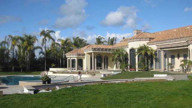 Rancho Santa Fe, CA Residence mediterranean-exterior