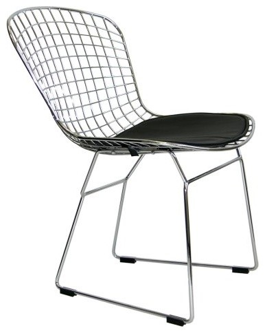Euro Style Rowena Wire Frame Dining Chair - Set of 2 contemporary-dining-chairs
