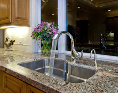 Franke Orca Sink in Kitchen by Bill Fry Construction contemporary-kitchen-sinks
