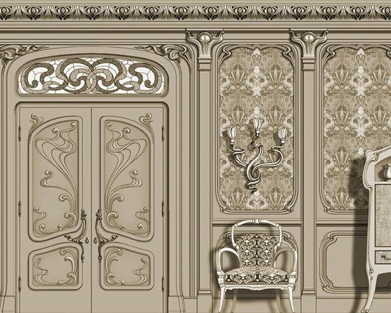 Doors - Agrell Architectural Carving - Art Nouveau doors - design by Agrell Architectural Carving