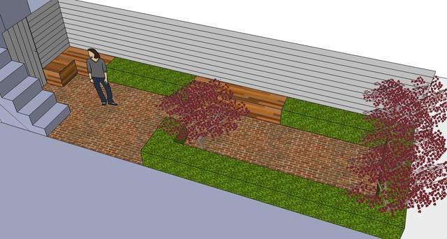 3D model contemporary-rendering