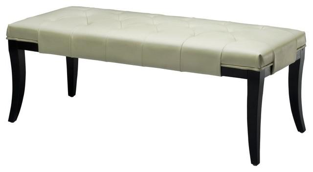 safavieh tyler bench white modern bedroom benches