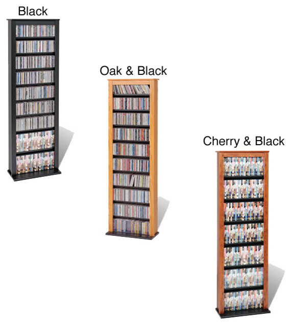 Slim Barrister Tower - Contemporary - Storage Units And Cabinets - by Overstock.com