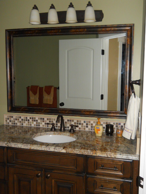Mirror Frame Kit - traditional - bathroom mirrors - salt lake city