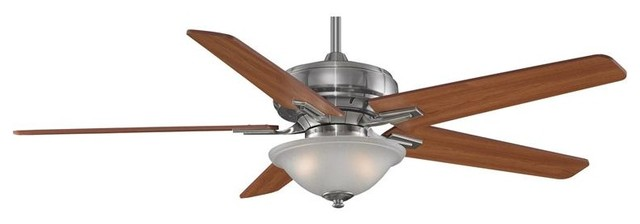 Fanimation FPD8088PW 60 Inches Ceiling Fan Keistone Collection traditional-ceiling-fans