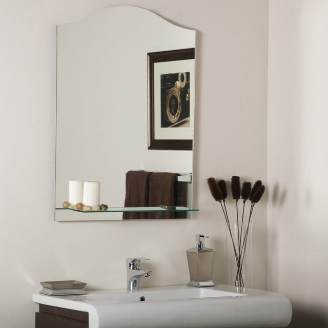 abigail modern bathroom mirror modern bathroom mirrors by