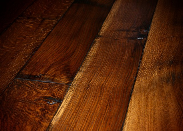 Old world chateau oak hardwood flooring for Old world floors