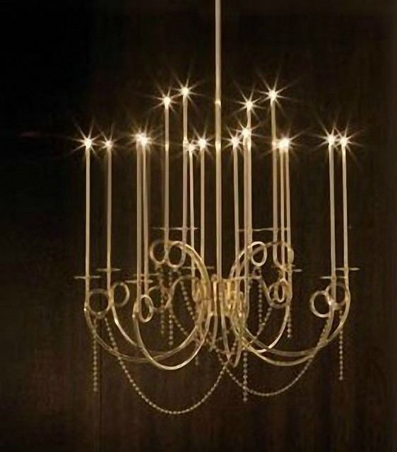 Antique Simple Iron G4 Chandelier Contemporary