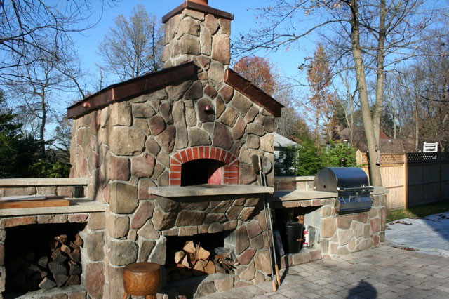 Mugnaini Wood Fired Ovens Residential Exterior traditional-ovens