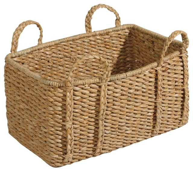 easton seagrass basket traditional-baskets