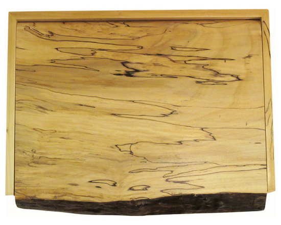 Past Projects - Spalted Elm Box Top
