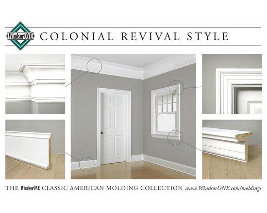 WindsorONE Colonial Revival Moldings -