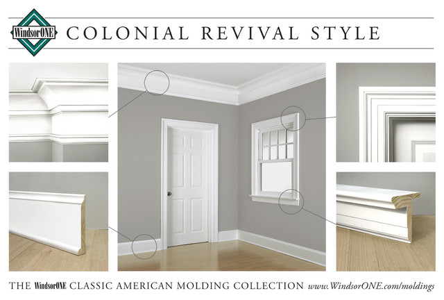 Decorating colonial window trim inspiring photos for Colonial style trim