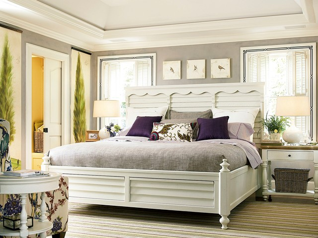 Better homes and gardens american cottage shutter bedroom for American bedroom furniture designs