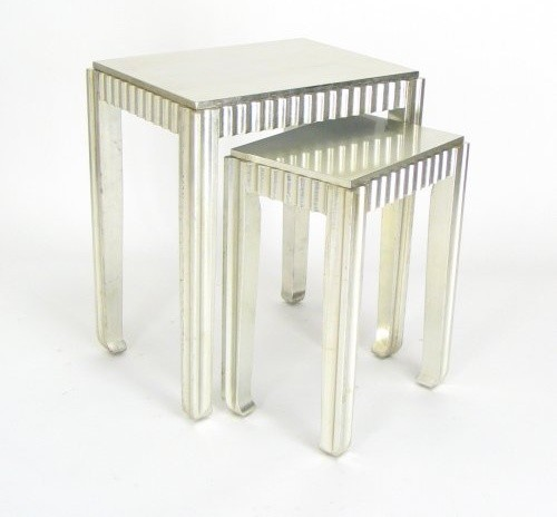 Wayborn Stoney Creek Hand-Carved Ocassional Table modern-nightstands-and-bedside-tables