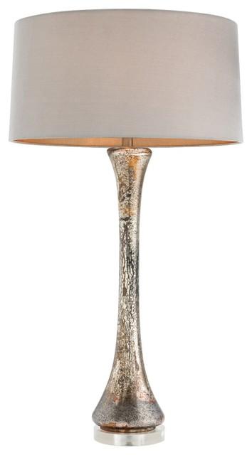 """Contemporary Arteriors Home Macy 33"""" Tall Glass Table Lamp contemporary-table-lamps"""