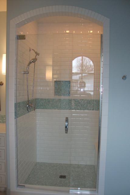 Eclectic Kenmore contemporary-bathroom