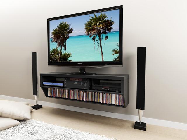 floating entertainment consoles modern entertainment