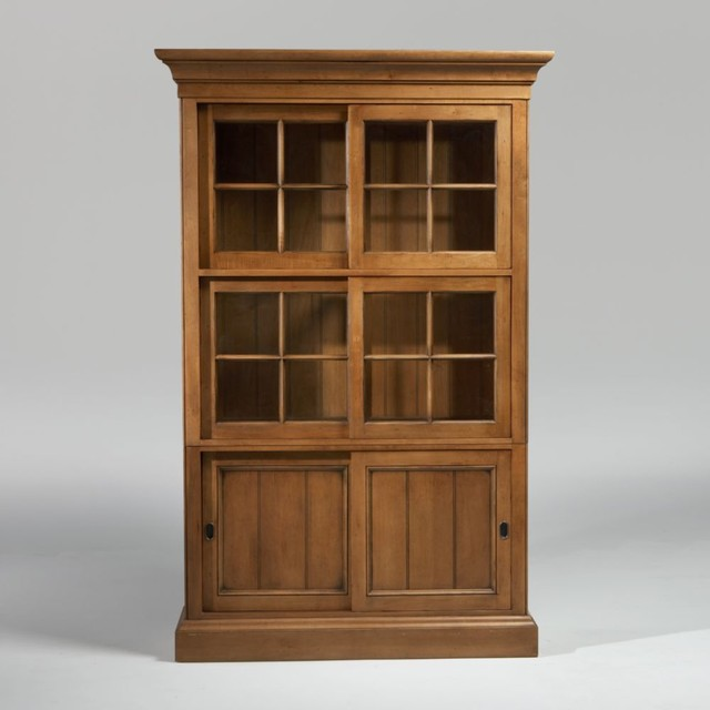 new country by ethan allen webber china cabinet - Traditional - Storage Cabinets - by Ethan Allen