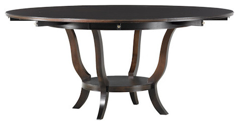 Dining Table with Four Upholstered Chairs traditional-dining-tables