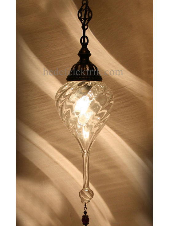 Turkish Style Blown Glass Ottoman Lighting -
