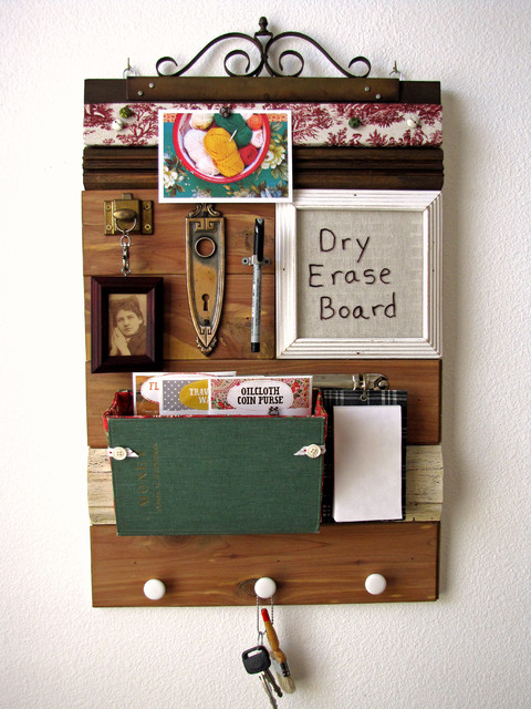 Mail organizers eclectic bulletin boards and for Bulletin board ideas for kitchen