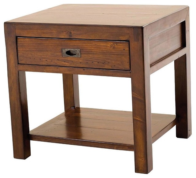 Parsons end table contemporary nightstands and bedside tables orange county by zin home - Bedside table ...