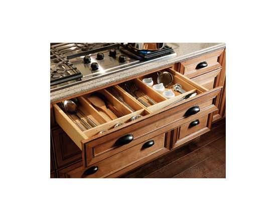 Base Drawer Partition Kit - The Base Drawer Partition Kit is customizable to organize your utensils and removable for easy cleaning.