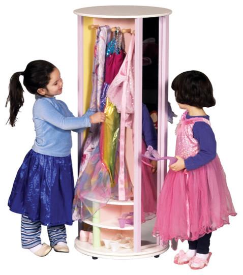 Pastel Dress-Up Carousel contemporary-kids-dressers