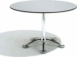 Pensi 39-In. Round Bistro Table | Knoll modern-dining-tables