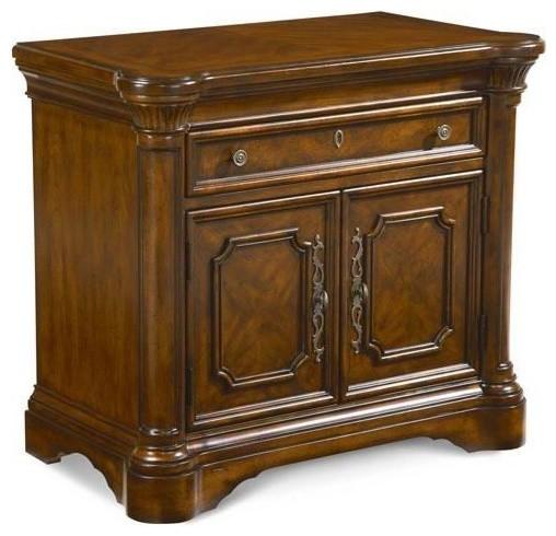 ART Furniture - Warwick Door Nightstand - 41142-2106 traditional-nightstands-and-bedside-tables