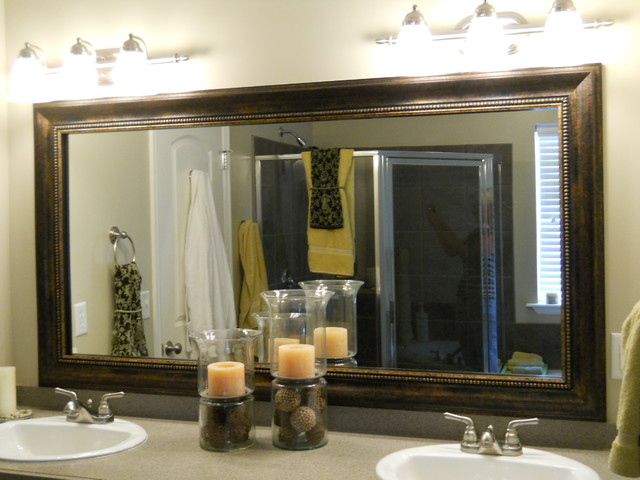 Mirror Frame Kit - Traditional - Bathroom Mirrors - salt lake city - by Reflected Design ...