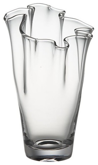 Evelyn Clear Small Vase modern vases