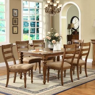 Riverside Avondale 7 pc. Rectangle Dining Set modern-dining-tables