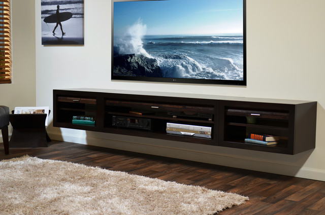 Hanging Entertainment Center - ECO GEO Espresso