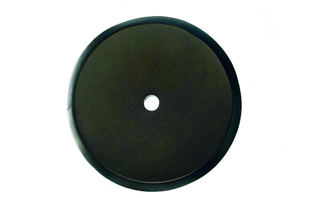 Medium Bronze Backplates for Pulls, 1 1/4 in. traditional-home-improvement