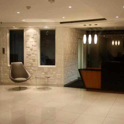 3d wallpanels in murray and robert office modern wall panels