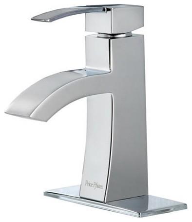 Price Pfister F-042-BNCC Bernini Single Handle Centerset Lead Free Bathroom Fauc contemporary-bathroom-faucets-and-showerheads