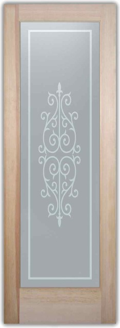 Bathroom Doors - Interior Glass Doors Frosted - Cadiz mediterranean-interior-doors