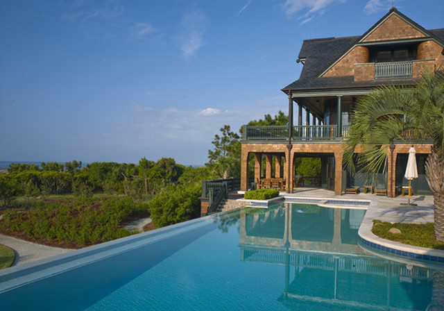 Private Residence in Kiawah Island, SC traditional-pool