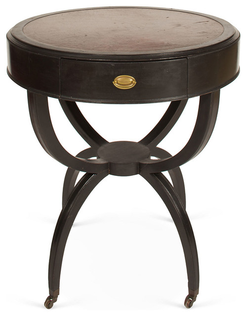 Duncan Phyfe-Style Drum Table - Contemporary - Game Tables - by One Kings Lane